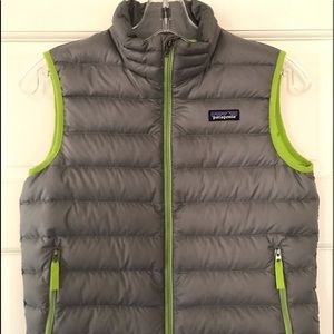 Youth Patagonia down vest
